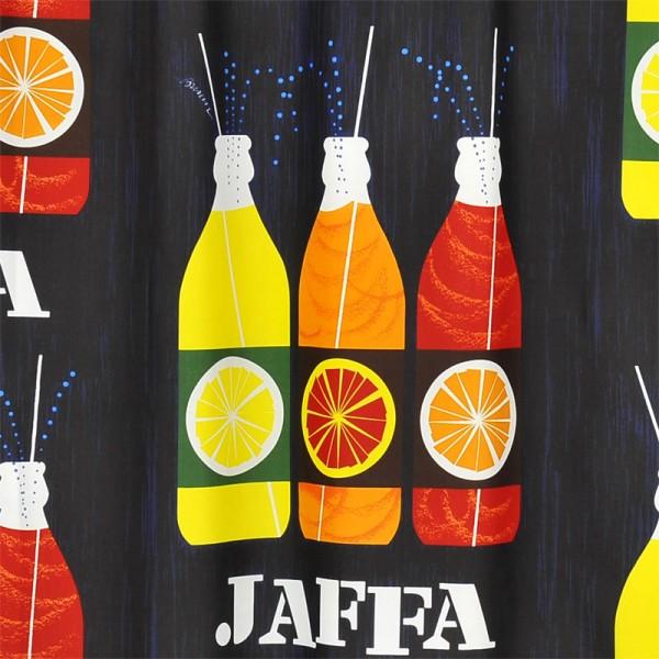 Vallila Textile Shower Curtain 180x200 Jaffa 1959 Blue