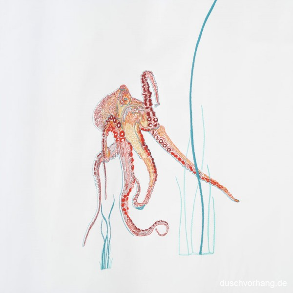 Individualization Embroidery Octopus Design