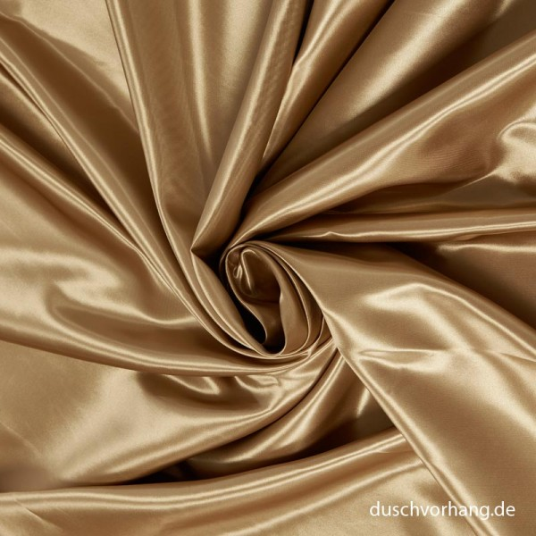 Textile Shower Curtain 180x200 Satin Gold