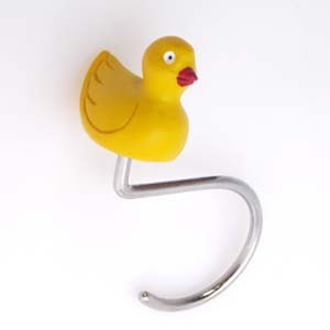 Shower Curtain Hook Rubber Duck