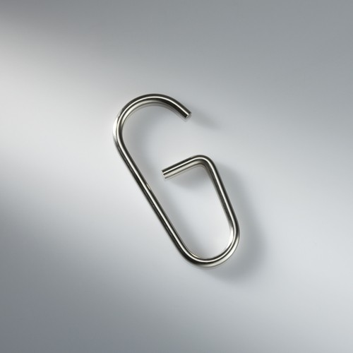 Shower Curtain Hook HKD 12 - Stainless Steel