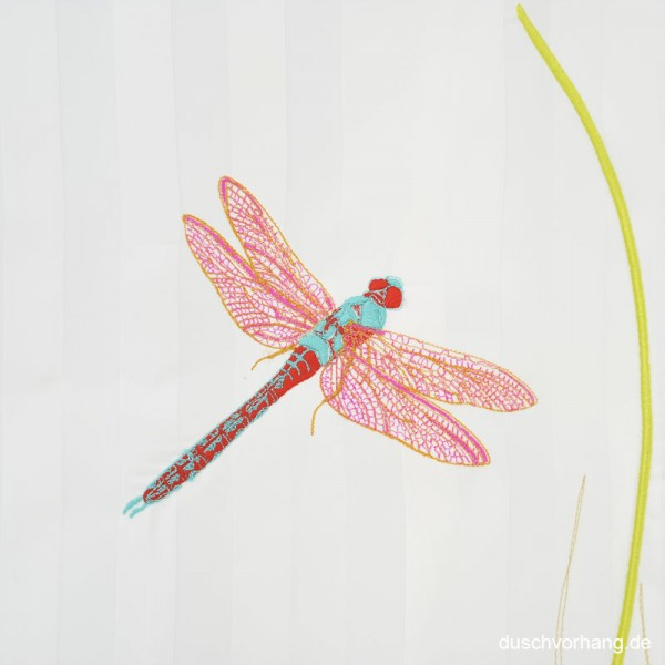 Individualization Embroidery Motif Dragonfly Colour