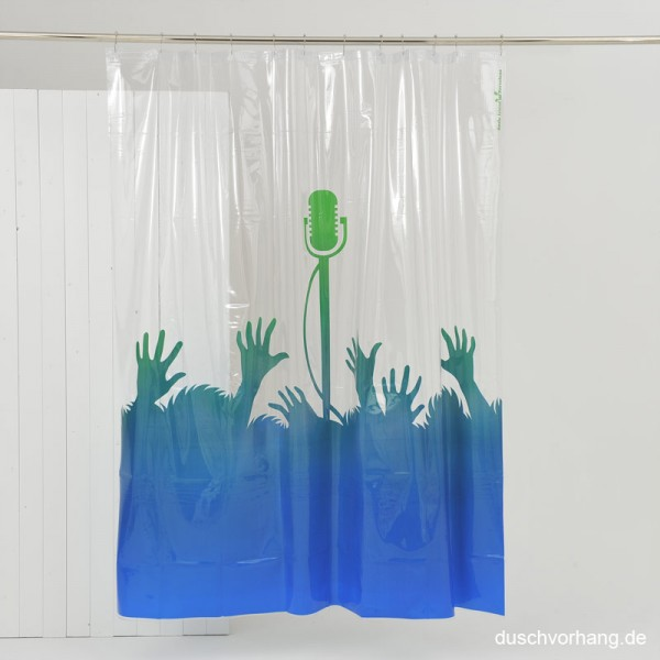 Plastic Shower Curtain 180x200 Greatest Hits