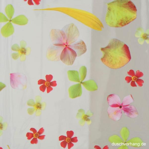 Plastic Shower Curtain 180x200 Springthing Flower