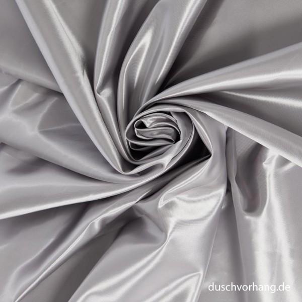 Textile Shower Curtain 180x200 Satin Silver