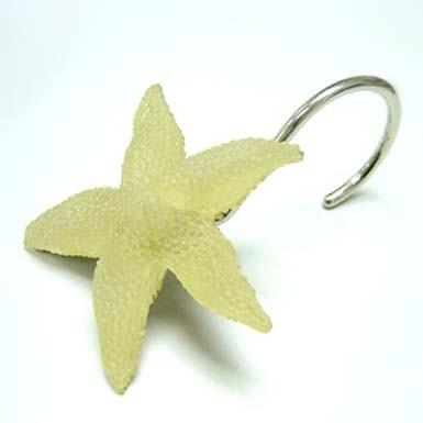 Shower Curtain Ring Starfish