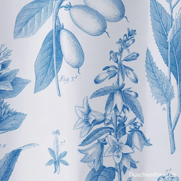 Textile Shower Curtain 180x180 Botanical