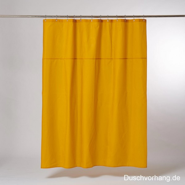 Duwax Textile Eco Friendly Shower Curtain Yellow