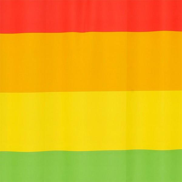 Textile Shower Curtain 180x200 Rainbow